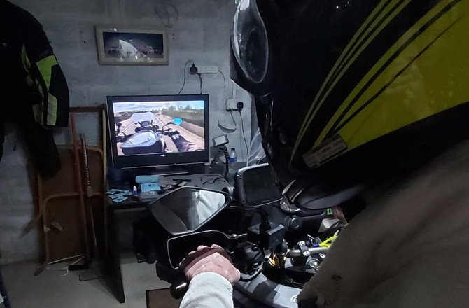 Five Ways To Go Virtual Motorcycling