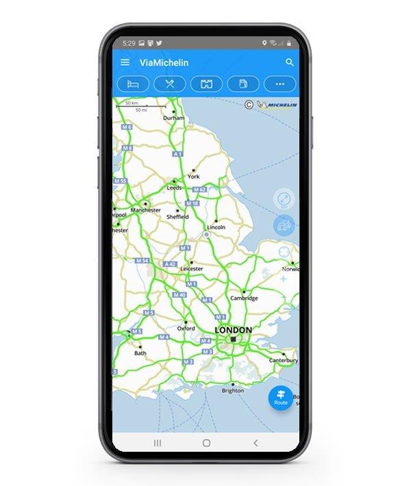 ViaMichelin Mobile Phone Navigation