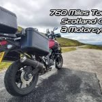 Touring Scotland on a Motorcycle