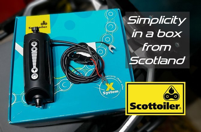 Scottoiler xSystem. Simplicity in a Box from Scotland