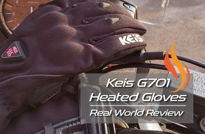 G701 Keis Heated Gloves