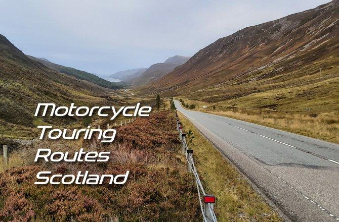Free Motorcycle Touring Routes of Scotland
