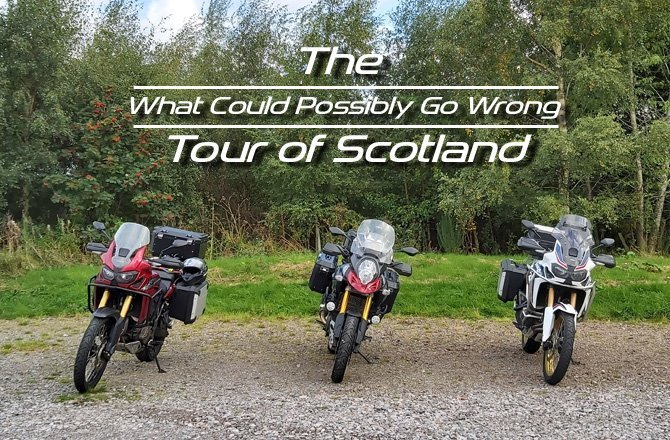 Free Scotland Motorcycle Tour Routes