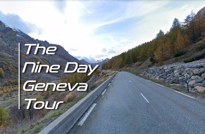 Free Motorcycle Touring Routes – Nine Day Geneva