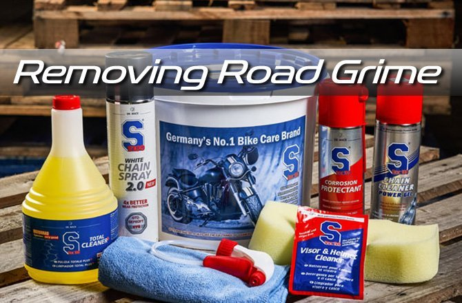 Removing Road Grime